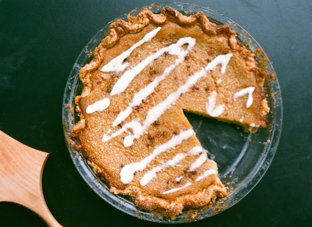 "Delicata Squash Pie aka ""Not Pumpkin Pie"""