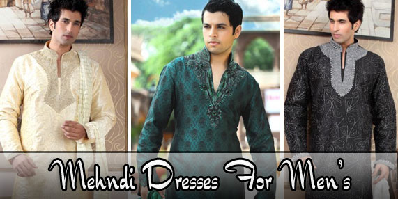 Mehndi Dress For men | New Kurta design for men's:-