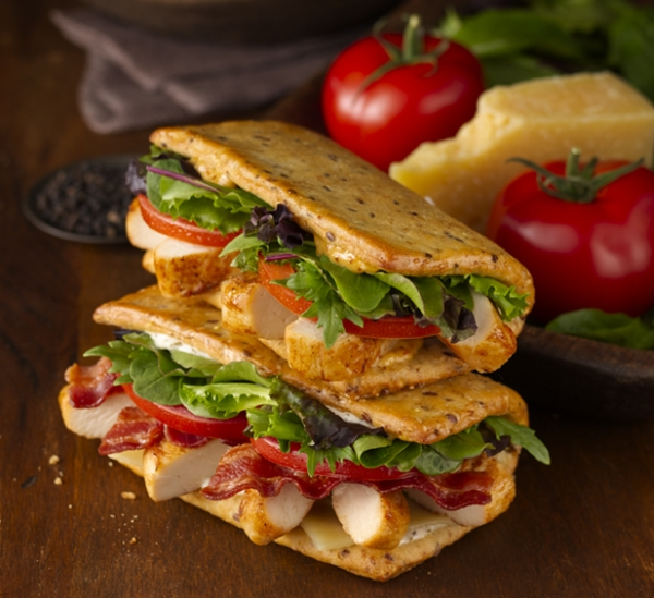 News: Wendy's Unveils New Flatbread Grilled Chicken Sandwiches | Brand ...