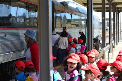 поезда в Португалии