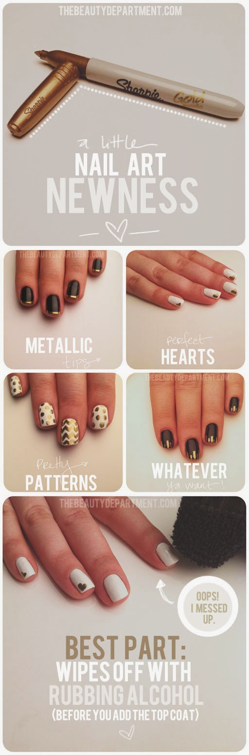 basic Simple Nail Designs For Beginners