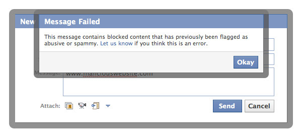 appeal against blocked content on facebook