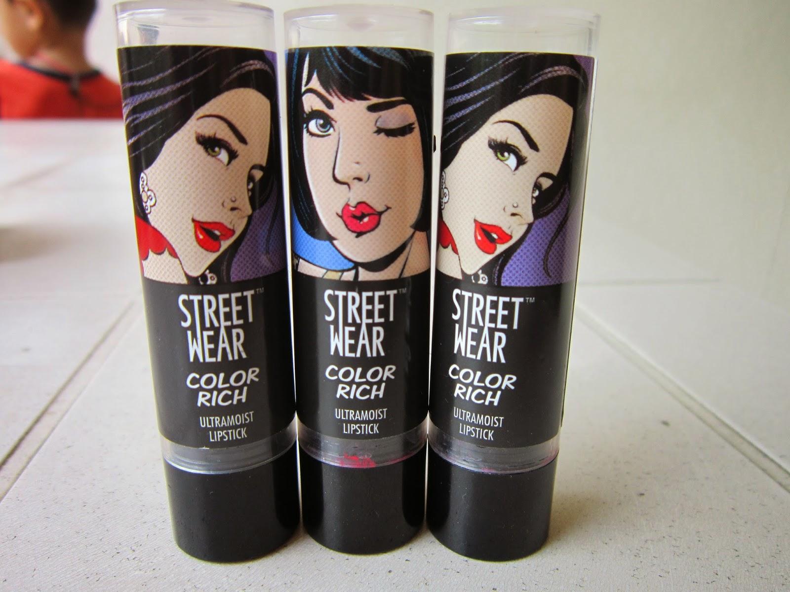 STREETWEAR Color Rich Ultramoist Lipsticks - Review image