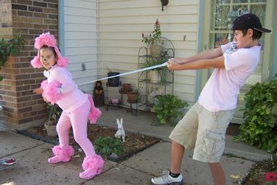 Poodle costume 2