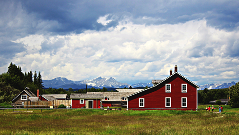 bar u ranch longview alberta rocky mountains travel photography