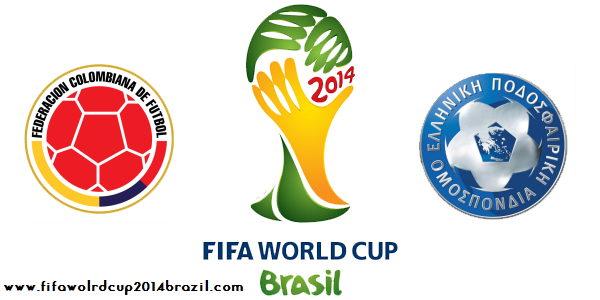 Fifa World Cup 2014 Colombia vs Greece Wallpapers