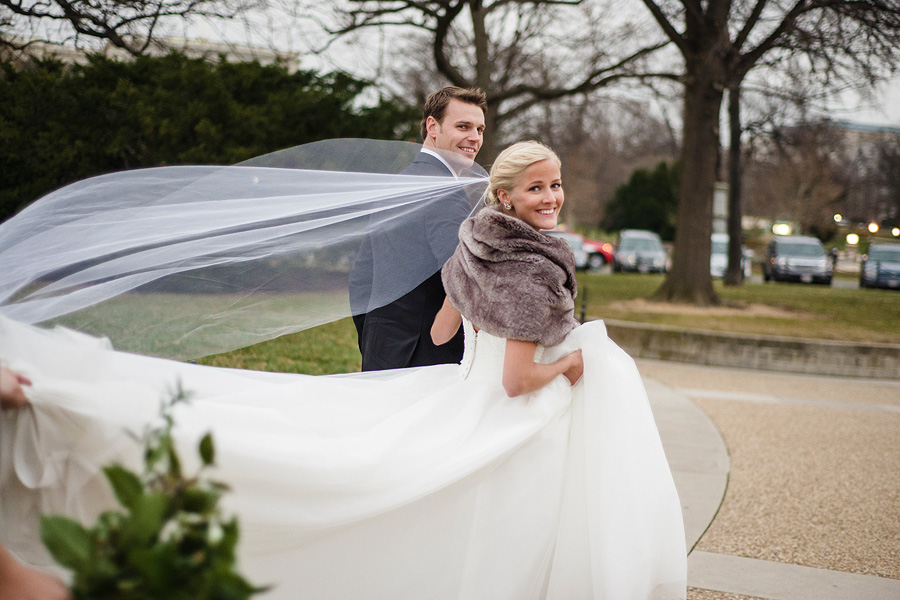 On the Mall - DC Wedding Photography