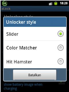 Aplikasi Tambahan  Kunci Layar Android Alock 1.0.0 File Apk