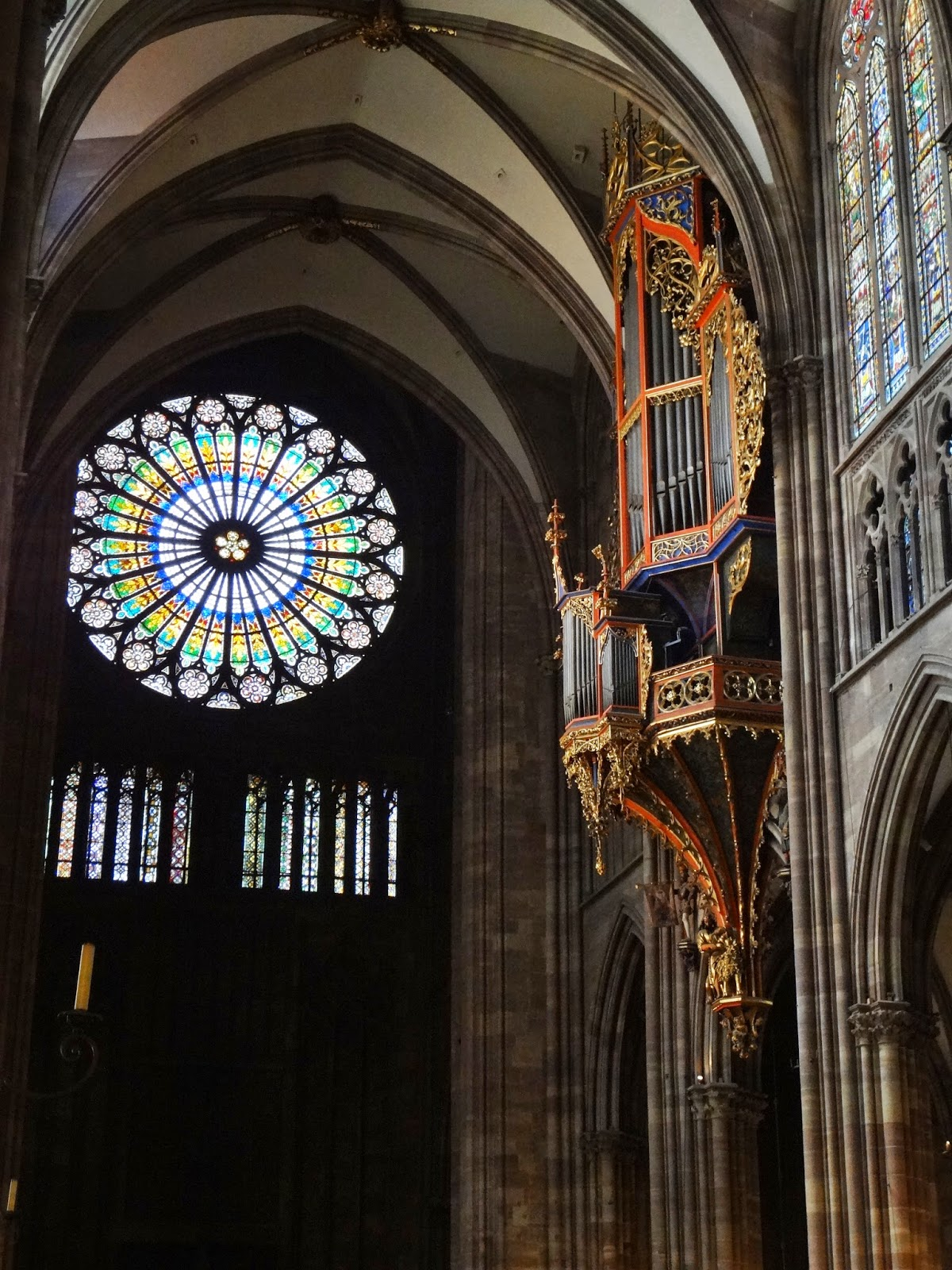 Rose Window Strasbourg France