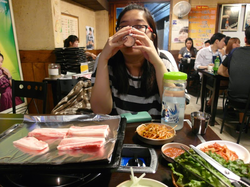 Ewha Summer Studies Sinchon Korean BBQ Seoul South Korea lunarrive travel blog