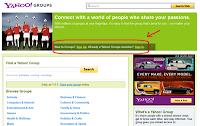 Cara Membuat Milis/Mailing List di Grup Yahoo/Yahoo Groups
