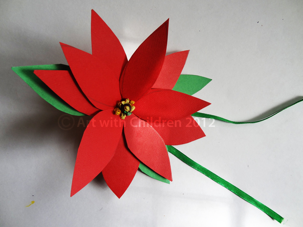 Christmas Crafts Poinsettia