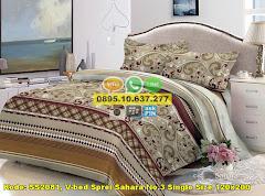 Harga V-bed Sprei Sahara No.3 Single Size 120×200 Jual