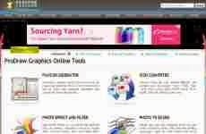 ProDraw Graphics Online Tools: herramientas para trabajar con gráficos online gratis