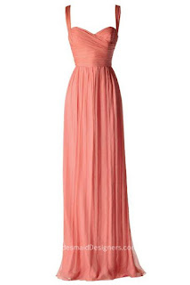 Bridesmaid Dresses with Straps
