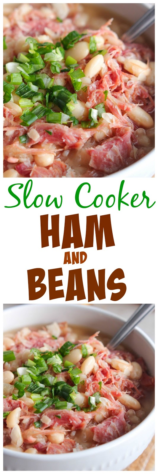 Eat Cake For Dinner: Slow Cooker Ham and Beans