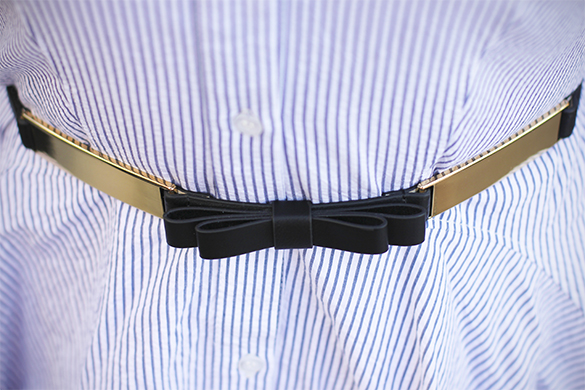 Ann Taylor bow belt