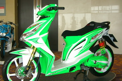 modify%20icon+Beat+Hijau Kumpulan Foto Modifikasi Motor Honda Beat Terbaru 2013