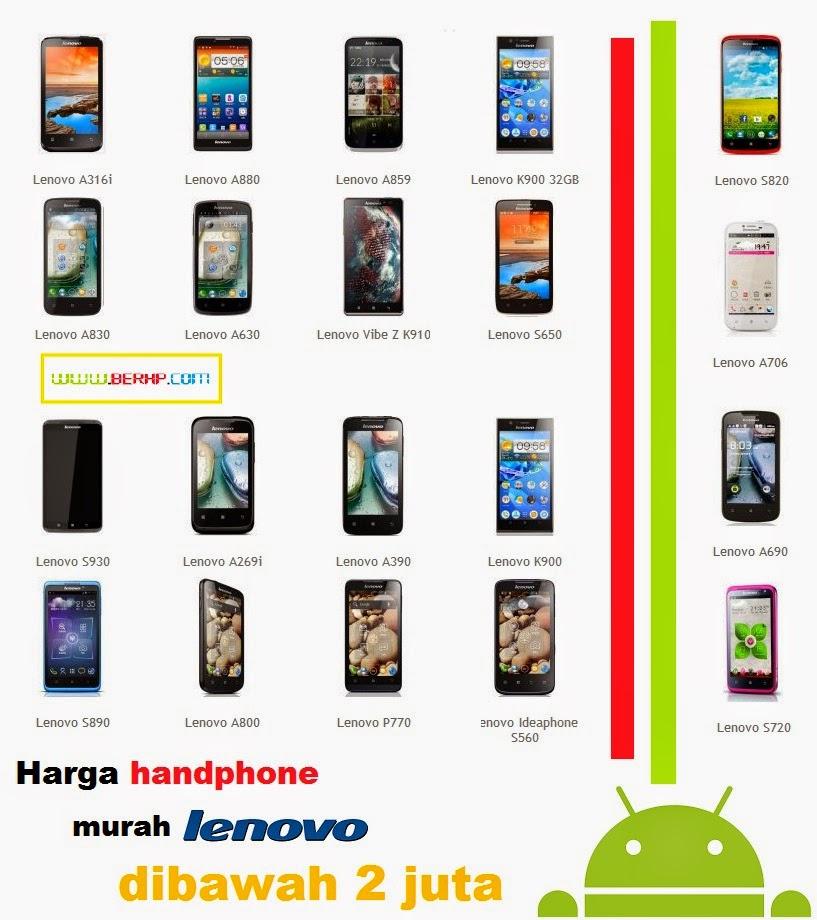 10 Hp LENOVO Android Harga Dibawah 2 Juta Terbaru 2014