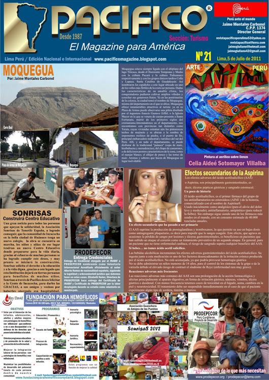 Revista Pacífico Nº 21 Turismo
