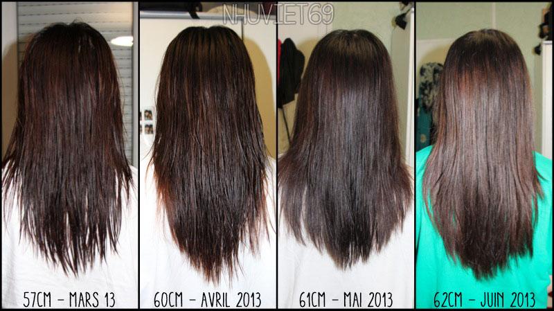 Lait de coco pousse cheveux avant apres