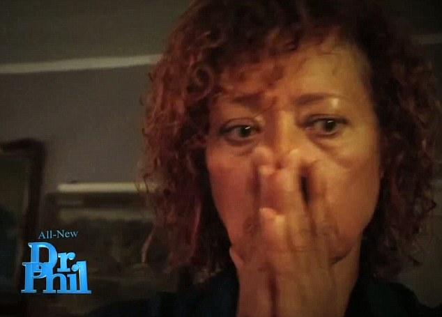 Devastated: Jael's behaviour has broken her family, including mother ...