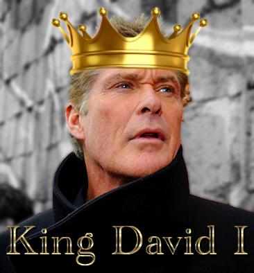 King David Hasselhoff