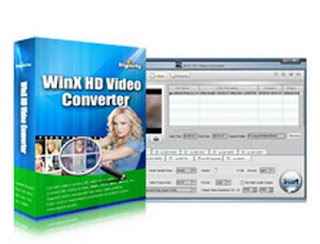 ScreenShoot WinX HD Video Converter Deluxe Full