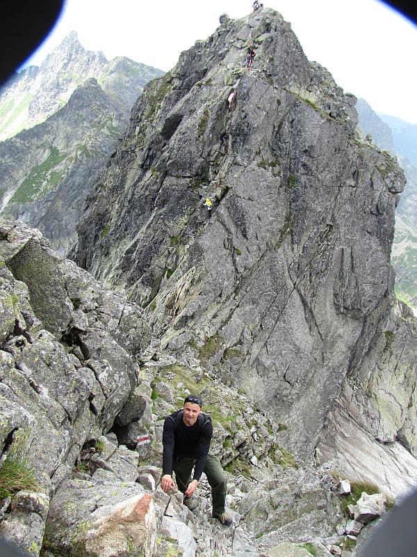 Szlak na Kozi Wierch.