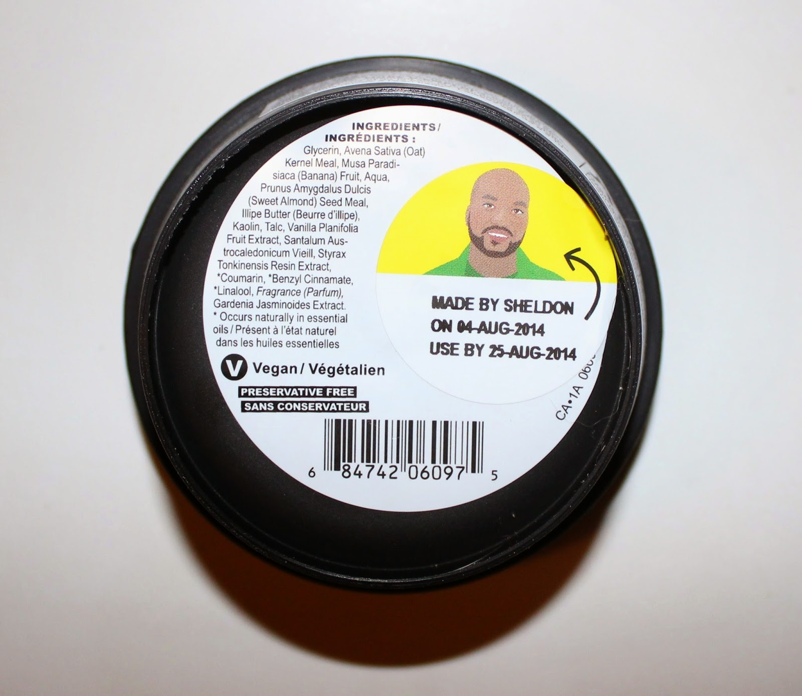 Lush Oatifix Fresh Face Mask