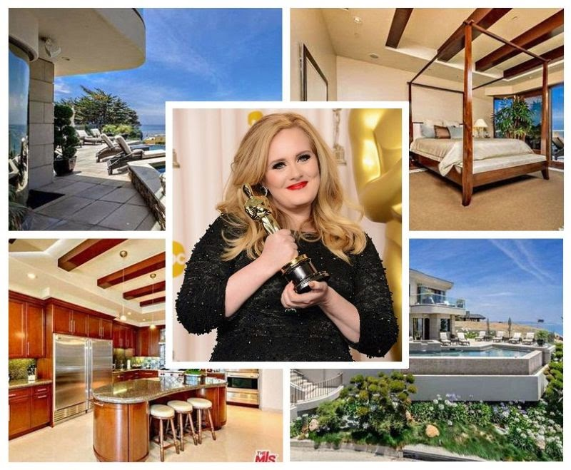 A brand new mansion is for sure to be included as well and Adele had just bid a luxury property at Malibu, CA, USA with fantastic rates, USD$ 8.3 Million.