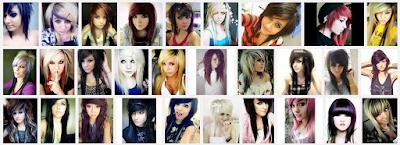model gaya rambut emo pendek dan panjang pria dan wanita 11