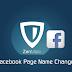 200+ पेज लाइक के बाद भी फ़ेसबुक पेज का नाम बदलिए