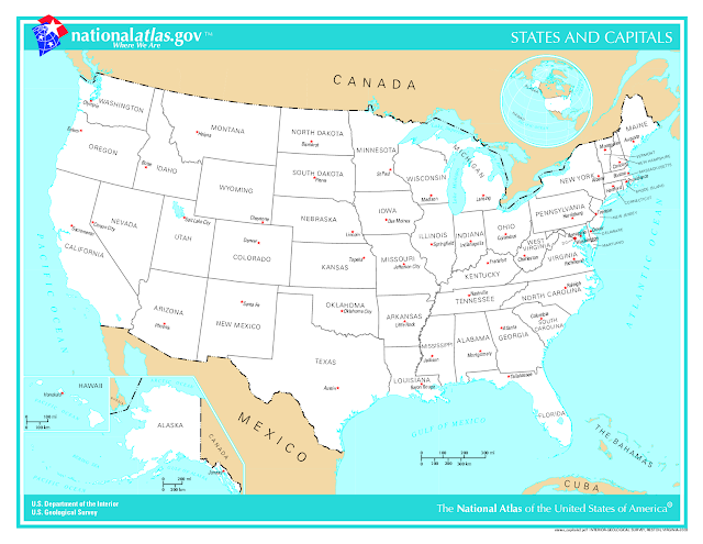 ... Region Map With States And Capitals. on northeast us map with capitals