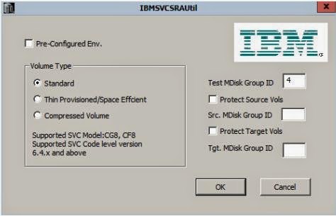 IBM SVC SRA Utility