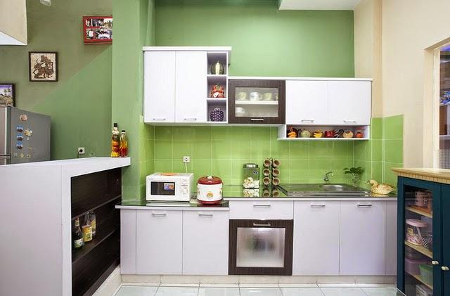 Cat dapur rumah minimalis 6