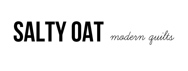 salty oat: modern quilts