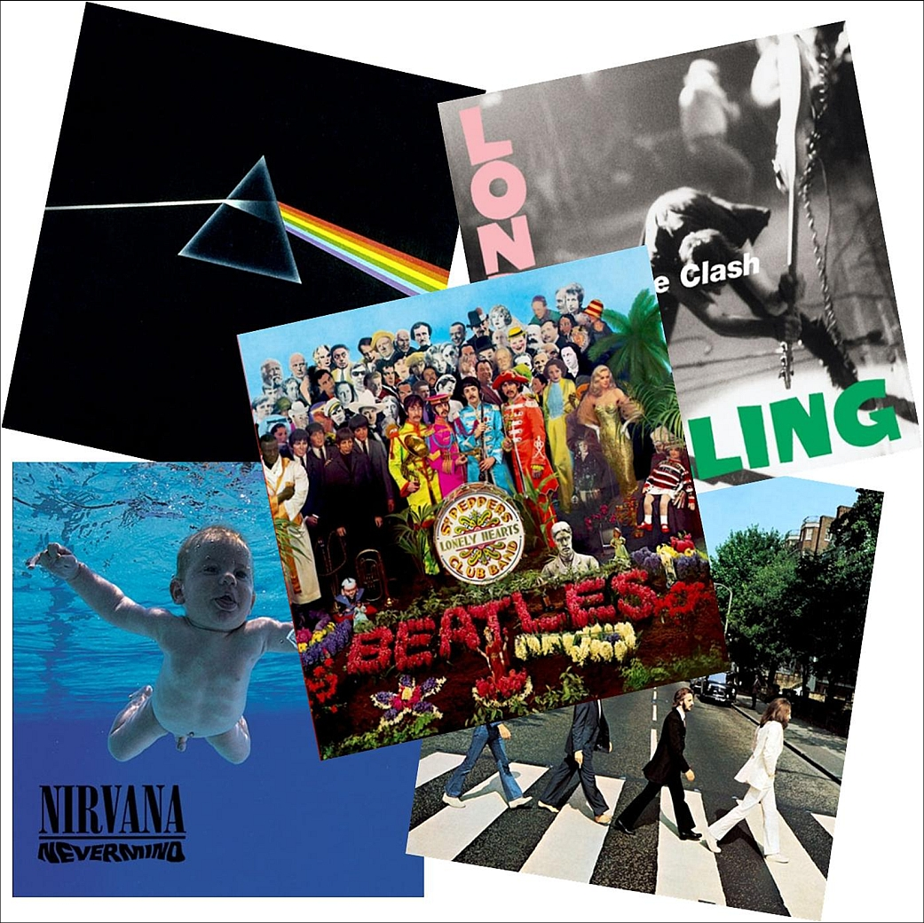 Rolling Stone Best Album Covers of All Time