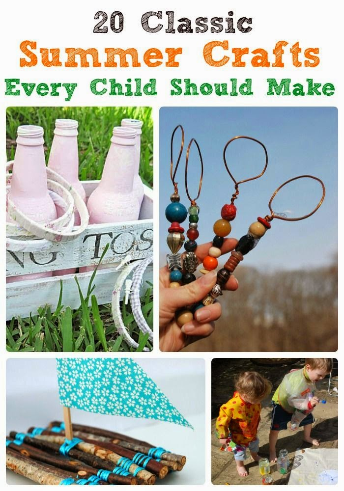20 Classic Summer Craft Every Child Should Make