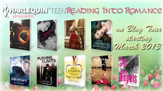 HarlequinTEEN's spring Reading into Romance: The Goddess Test series by Aimee Carter