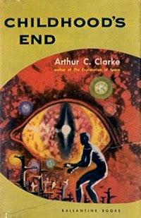 Portada original de El fin de la infancia, de Arthur C. Clarke