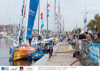 Départ au Havre demain de la Transat Jacques Vabre !
