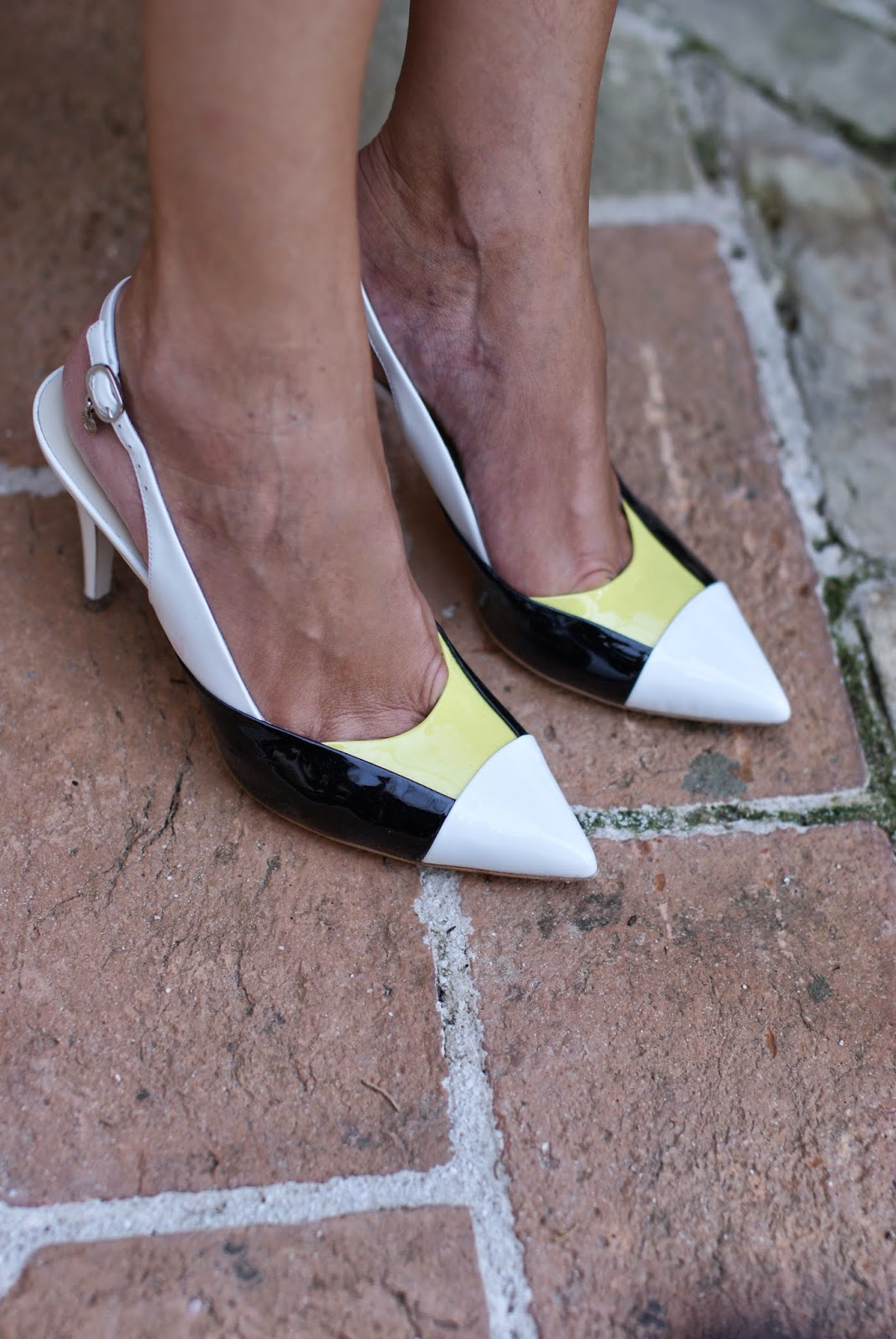 Loriblu pumps, white slingbacks, Fashion and Cookies, fashion blogger