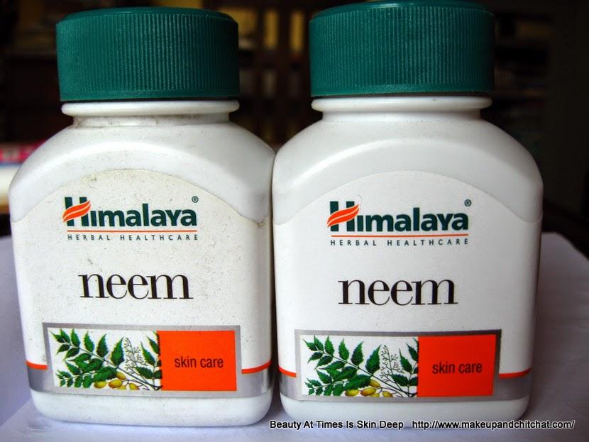 Himalaya herbals neem capsules