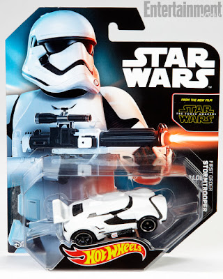 "San Diego Comic-Con 2015 Exclusive Star Wars Episode VII - The Force Awakens ""First Order Stormtrooper"" Hot Wheels Car"