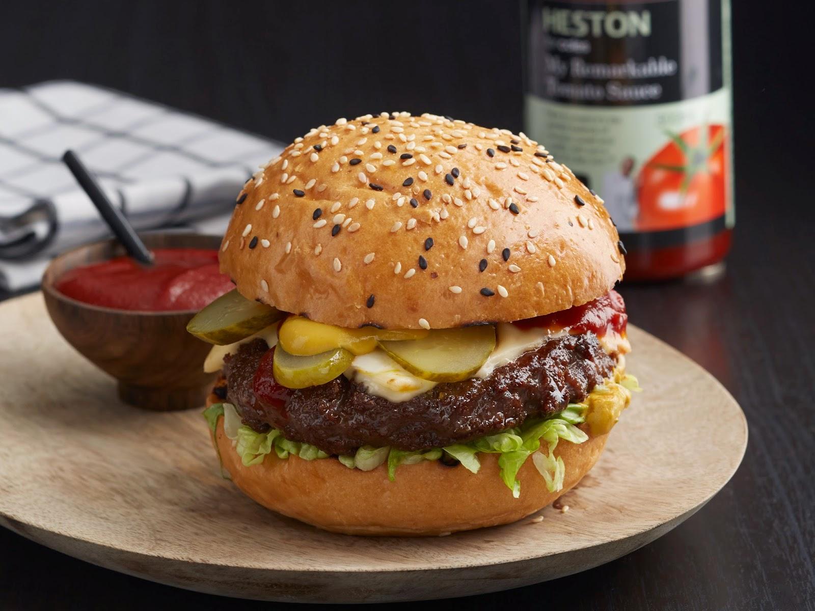 "Heston Blumenthal's ""My Remarkable Burger"""