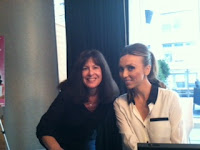 Me with Giuliana Rancic at Breast Cancer interview