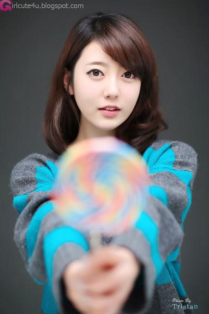 5 Bo Mi on bed -Very cute asian girl - girlcute4u.blogspot.com