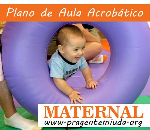 Plano de aula acrobático para Maternal