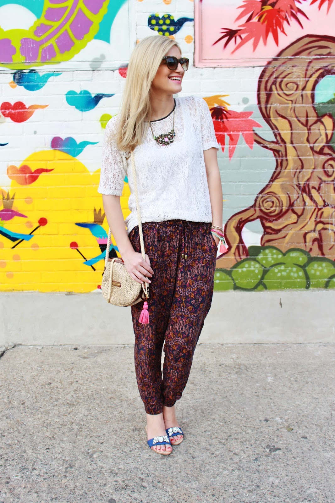 bijuleni- harem pants and top
